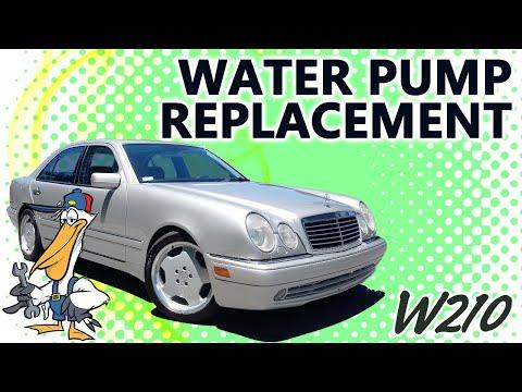 Mercedes-Benz W210 E-Class Water Pump Replacement