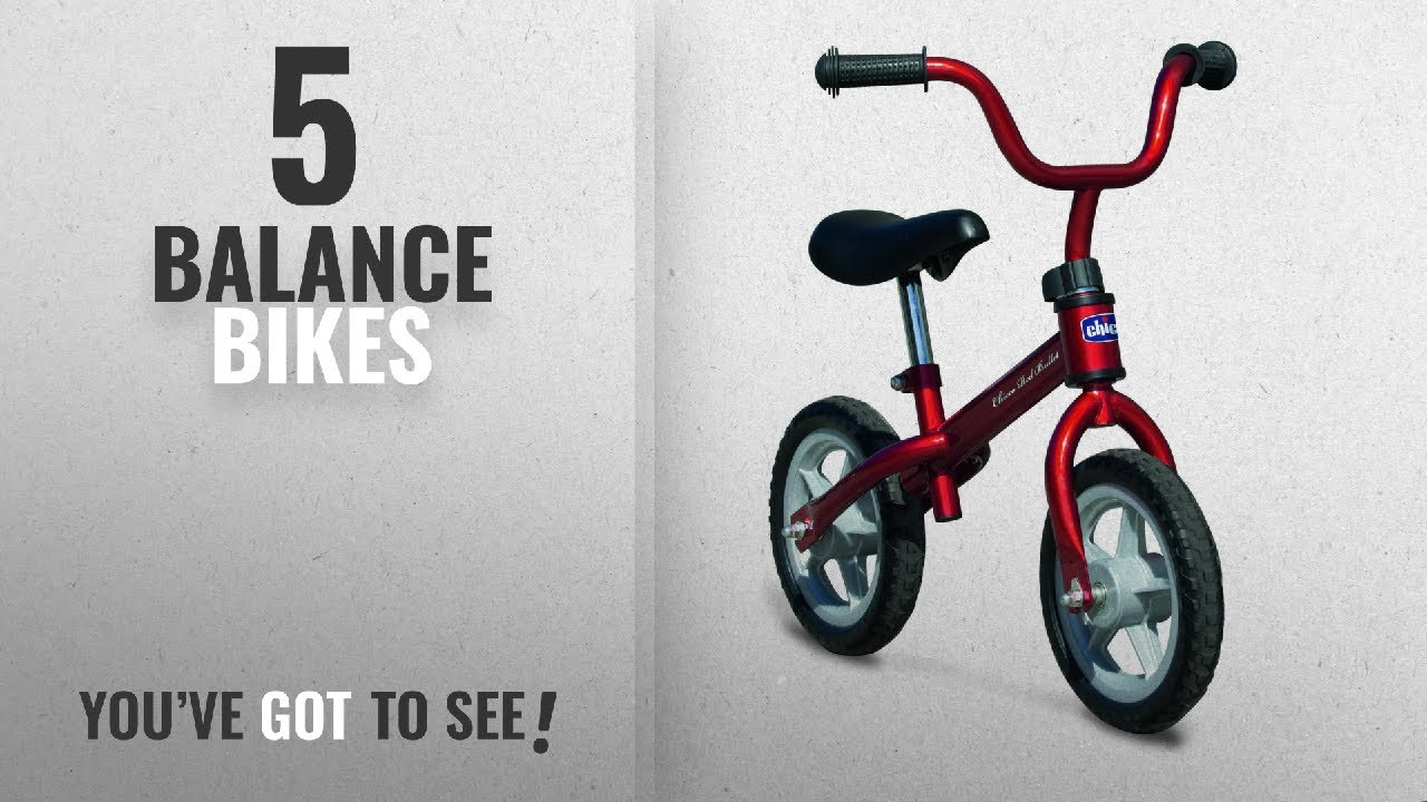 5c4c0144740 Top 10 Balance Bikes [2018]: Chicco Bullet Balance Bike - Red - YouTube