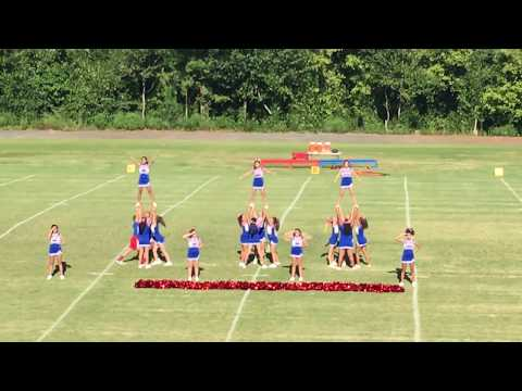 Eastbrook Middle School Cheer Squad 9/11 Remembrance