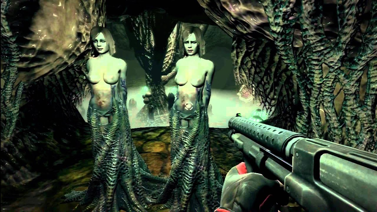 More modest Duke nukem forever twins nude gif