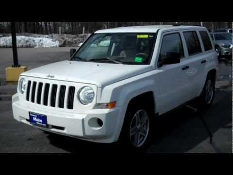 Best Priced Used 2008 Jeep Patriot Southern Maine Motors Saco Me Boston Portland
