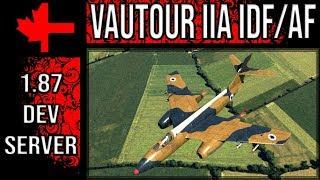 War Thunder Dev Server - Update 1.87 - Vautour IIA IDF/AF