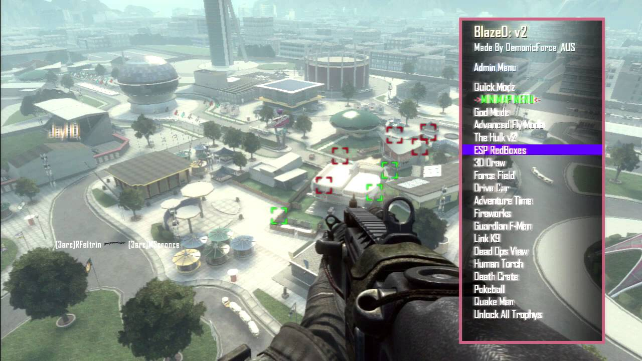 Black Ops 2 GSC Mod Menu Blazed V2 [PS3/XBOX 360/ PC] [CFW/RGH/JTAG]