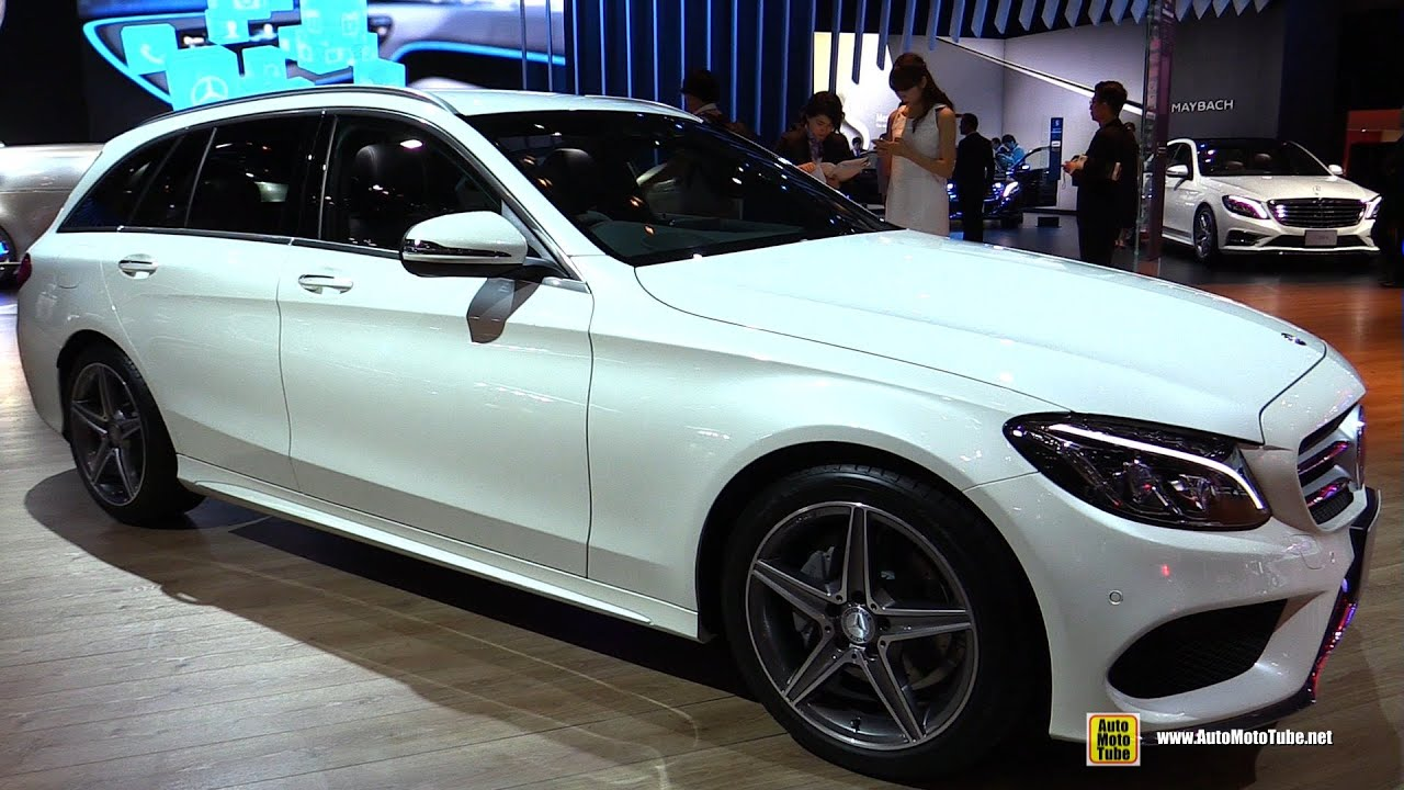 2016 Mercedes C220d Stationwagon Sports - Exterior and ...