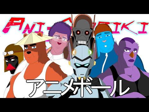 Ани-Шарики: 1 серия Киберпунк!(Смешарики в аниме)