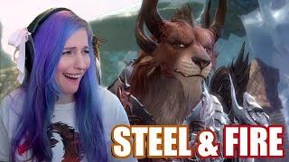 Steel & Fire Reaction | Guild Wars 2 Visions of the Past