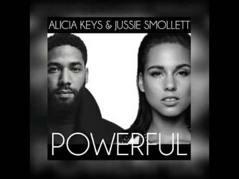 Alicia Keys, Jussie Smollett - Powerful (Audio)