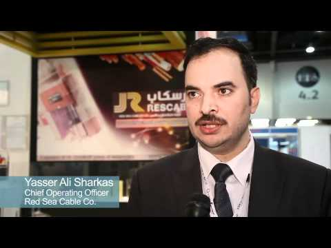 Yassir Ali Sharkas of Red Sea Cable Co at Power+Water Middle East