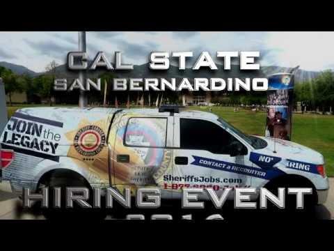 CSUSB Hiring Event