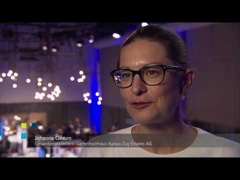 Schweizer BIM Kongress 2017: Interview mit Johanna Gerum, Zug Estates AG