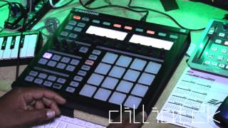How to Do a snare roll on Maschine