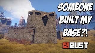 RUST | Someone Built My House?! Solo Survival! S3-E6
