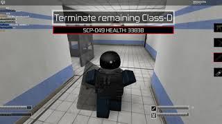 SCP:CB NTF MOD Roblox Gameplay