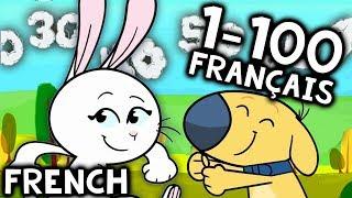 French Numbers Song 1-100 | Nombres en Français Chanson: Compter jusqu'à 100