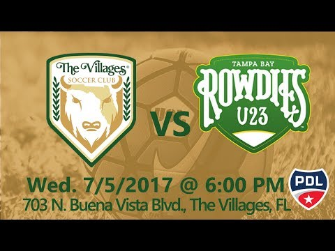 The Villages SC vs Tampa Bay Rowdies U23
