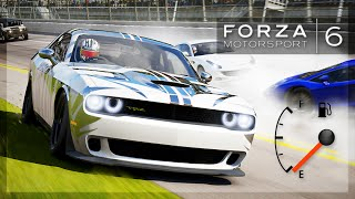 Forza 6 - EMPTY FUEL CHALLENGE! (Zig Zags, Unexpected Results, and More!)