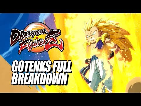 GOTENKS - Combos, Supers & Breakdown: DragonBall FighterZ