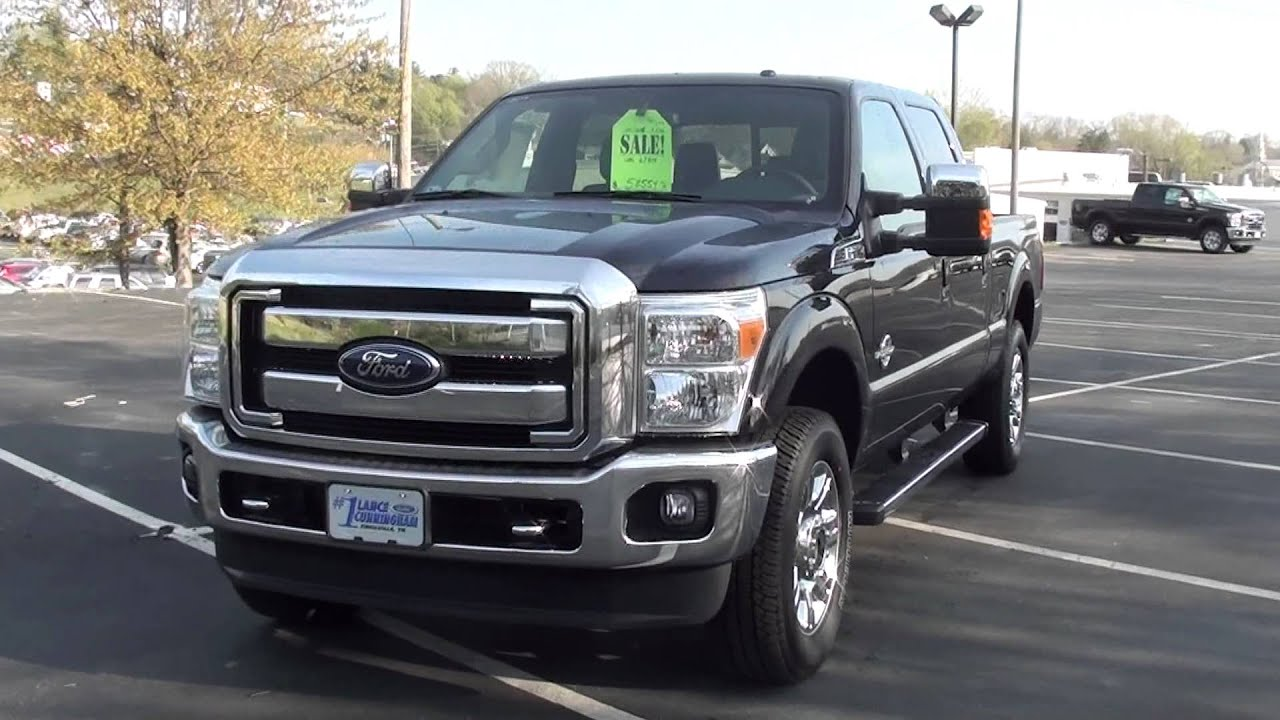 FOR SALE NEW 2012 FORD F 250 LARIAT FX4 OFF ROAD PKG STK