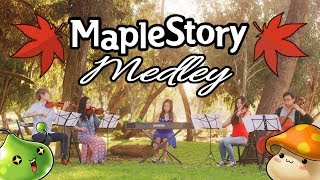 Maplestory Medley - String Quartet + Piano ft. Rainbowpig2, Sherry Kim, and xClassicalCatx