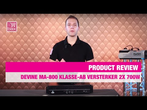 Review Devine MA-800