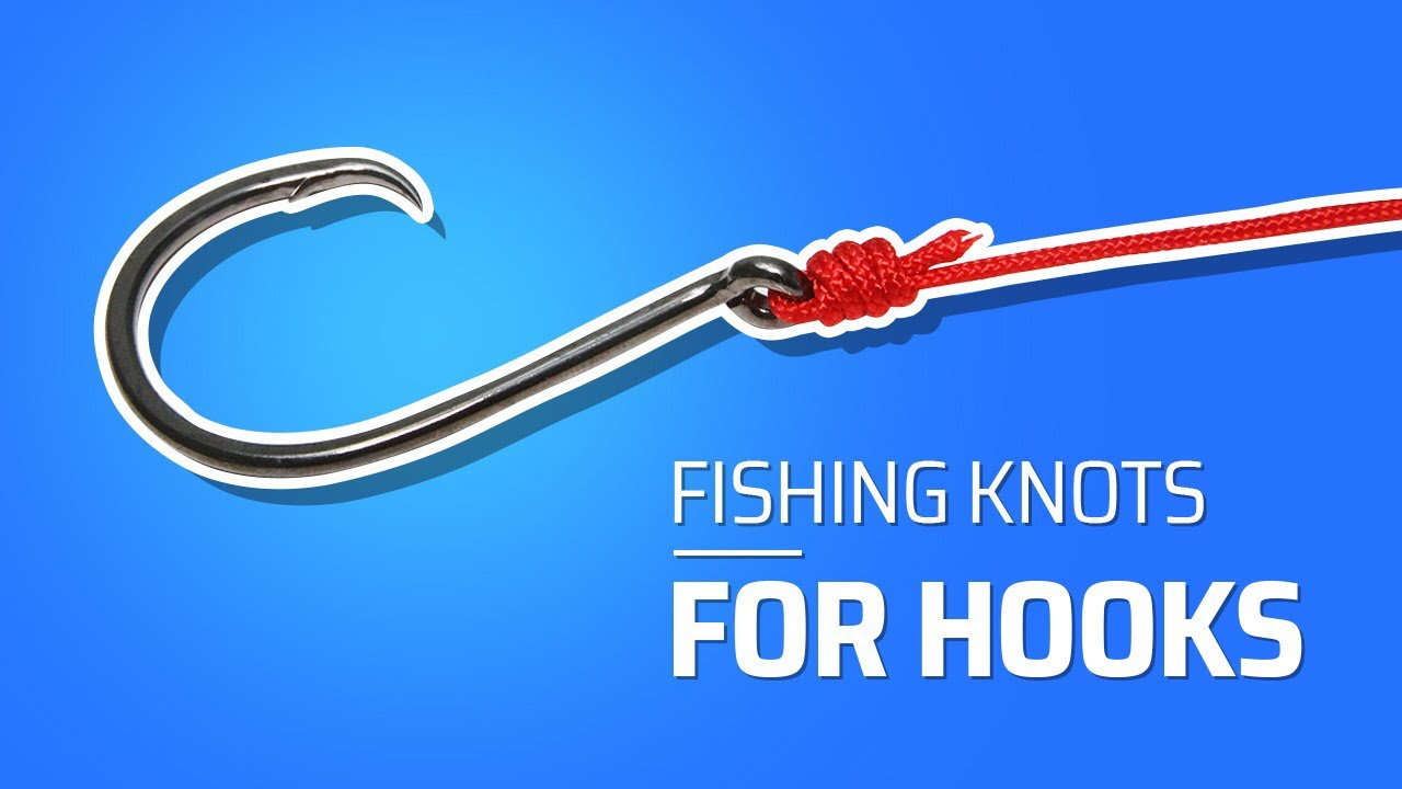 Hook line tie to fishing fishing