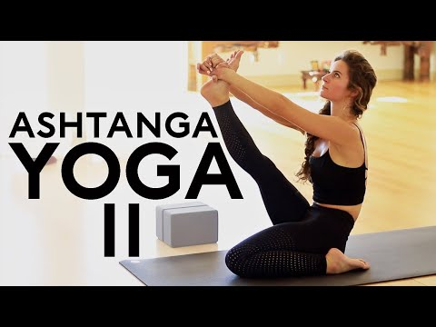 1 Hour Ashtanga Yoga (Second Series) Intermediate | Fightmaster Yoga Videos