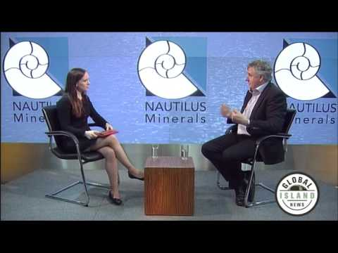 Seabed Mining - Nautilus Minerals CEO Mike Johnston talks to Global Island News