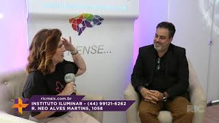 Programa Ver Mais - Entrevista no Instituto Iluminar  - com Claudio Trudes Chibante