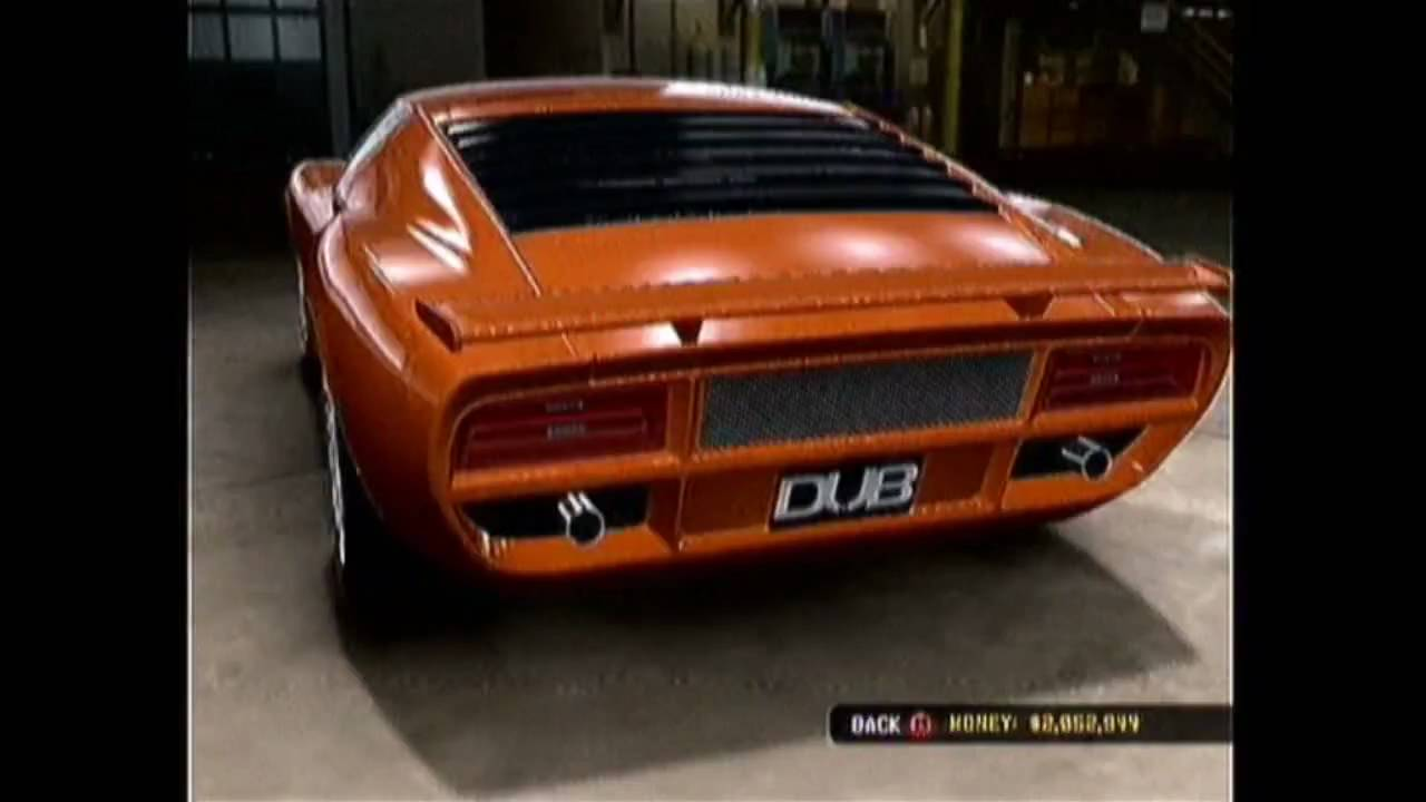 Midnight Club Los Angeles Lamborghini Miura Sv Body Kit S Youtube