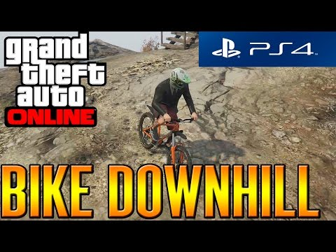 5d6fdb127f4 GTA V Online Next-Gen - PS4 - Insane Bike Downhill! - YouTube