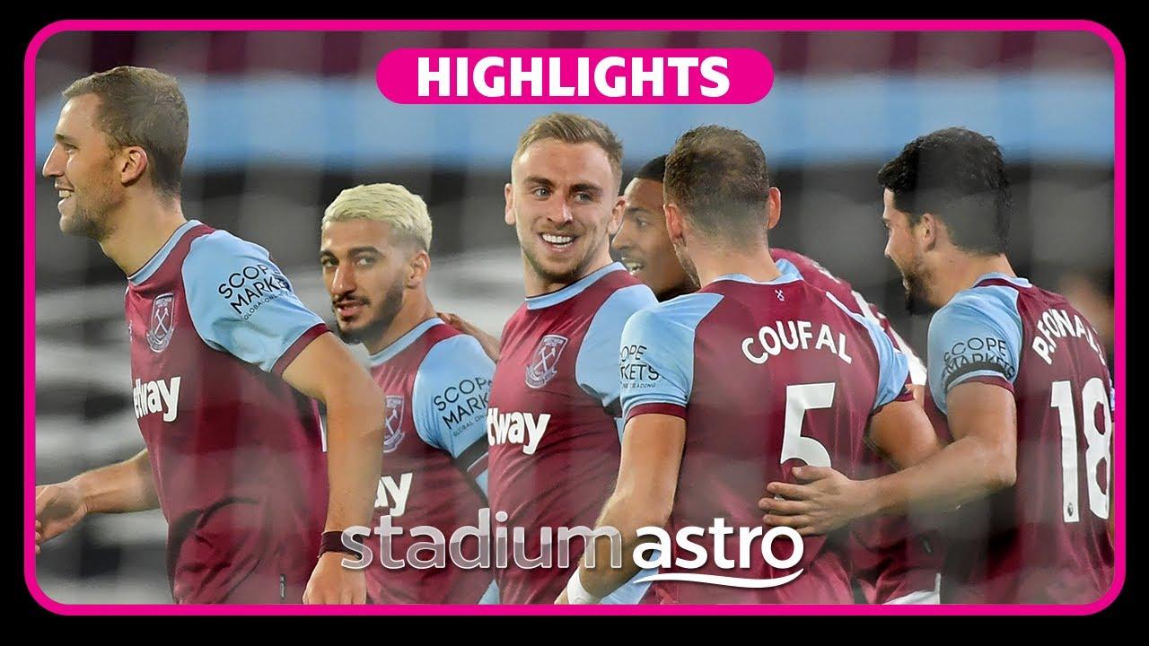 West Ham 2 - 1 Aston Villa | EPL Highlights | Astro SuperSport
