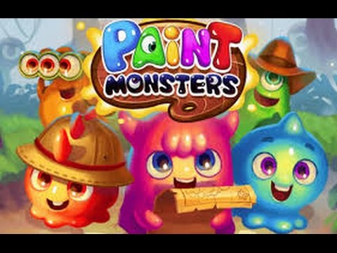 Paint Monsters IPhoneiPod TouchiPad Gameplay Doovi