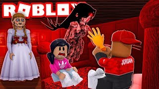 ANNABELLE ROBLOX HORROR STORY - The Golden Arm