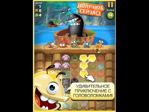 Best Fiends обзор Android  IOS