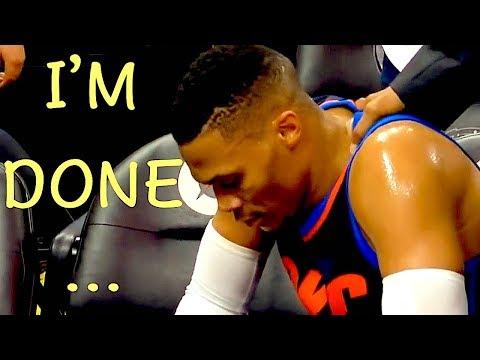 NBA 'I'm Done' Moments
