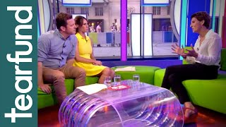 The One Show interviews Tearfund