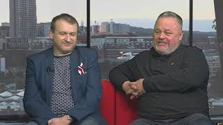 Sheffield Live TV Jason Dickinson & John Garrett 15.11.18 Part 1