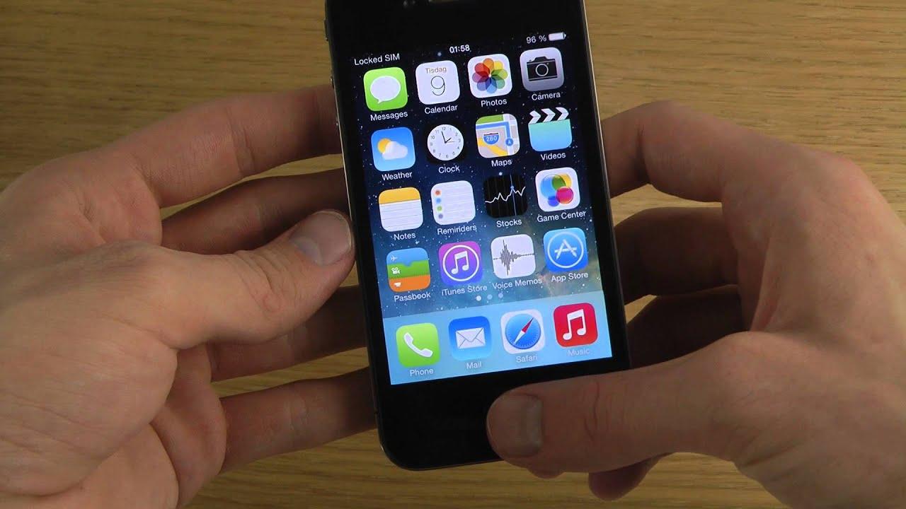 iPhone 4 iOS 7 Beta 3 - Review - YouTube