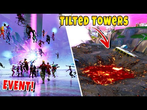 Loot Lake Event Vernietigt Tilted Towers! 💥 - Fortnite Battle Royale