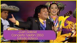 Juan Gabriel - Teletón 2003 Concierto Estadio Azteca