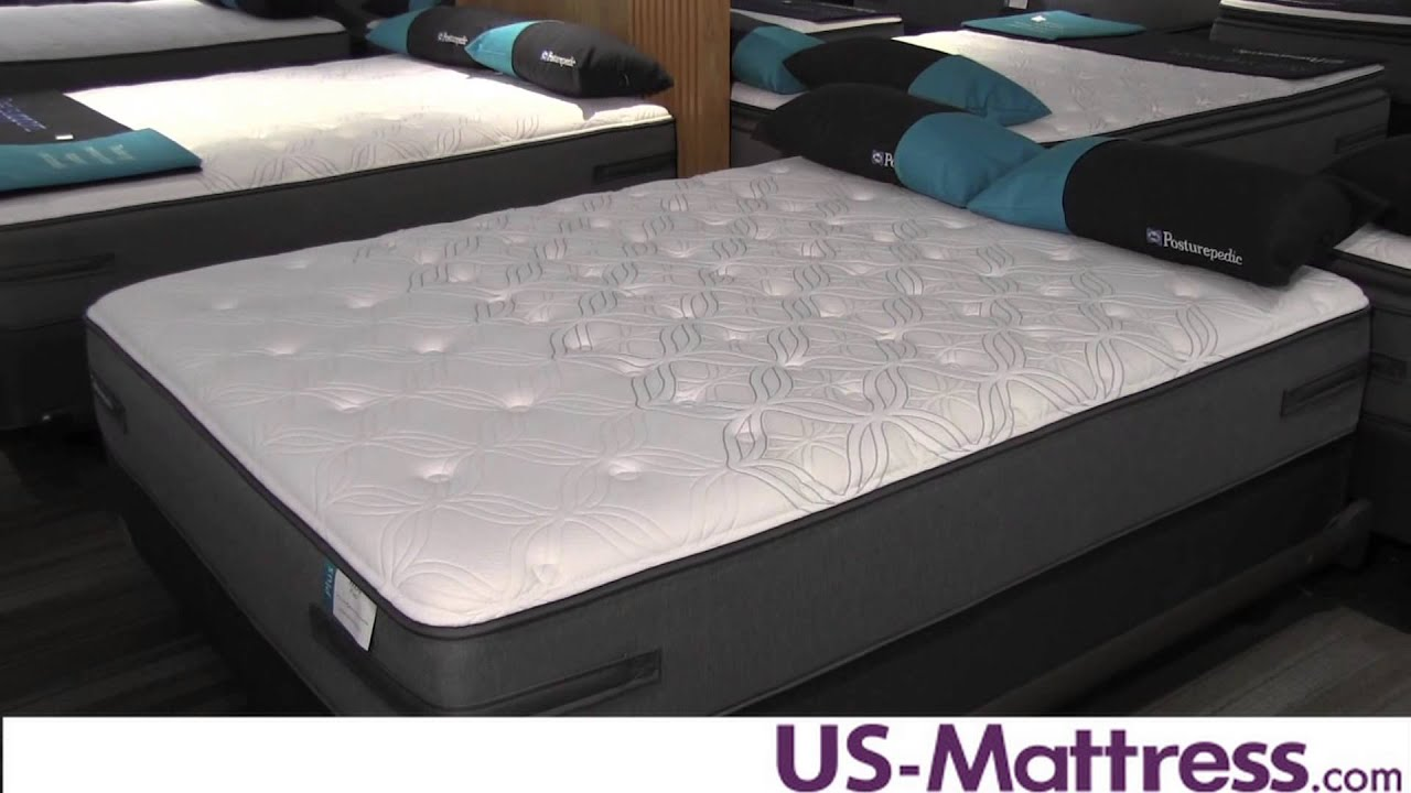 sealy posturepedic plus unrivalled plush mattress youtube