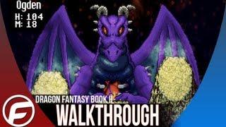 Dragon Fantasy Book II Walkthrough Part 1 Gameplay Playthrough Lets Play PS VITA