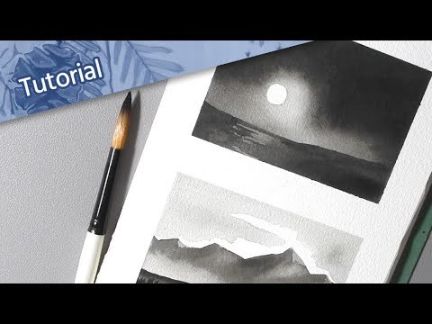 [ Watercolour Tips ] // Quick Landscape Painting Techniques for Beginners