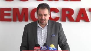 Conferință de presă PSD Dâmbovița. Leonardo Badea și Adrian Țuțuianu