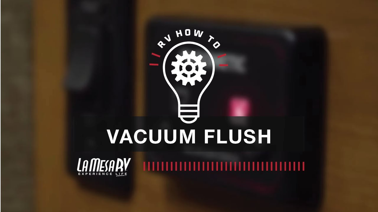 How Does An Rv Vacuum Toilet Flush Youtube