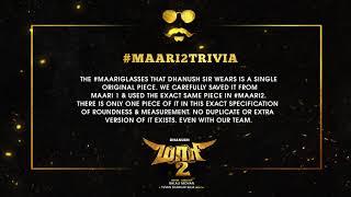 Maari 2 Trivia #1 | Dhanush | Balaji Mohan | Yuvan Shankar Raja | Wunderbar Films
