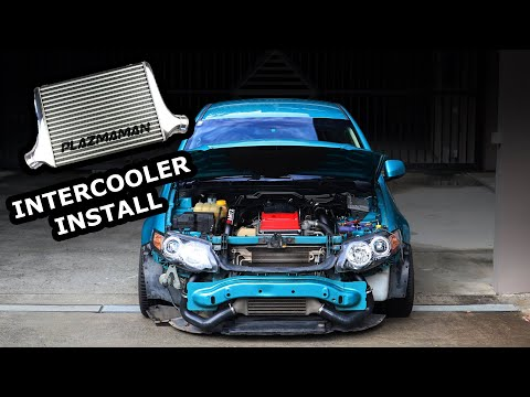 Installing a Big Intercooler on the Turbo Falcon - YouTube