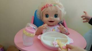 German talking Baby Alive Potty Training