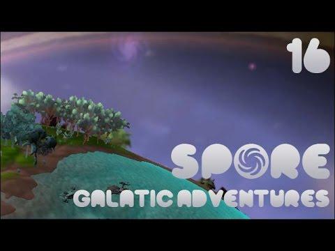 Spore! Galactic Adventures #16 - Lava Planet vs. Ice Comets, Go! |