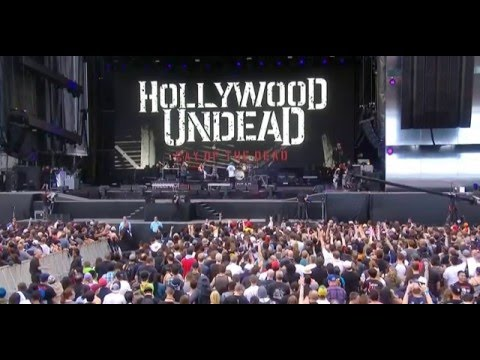 Hollywood Undead - Young LIVE @ Rock In Rio USA 2015